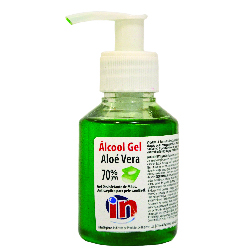 5600387490804-IN - Álcool Gel Aloé Vera - 100ml - Doseador